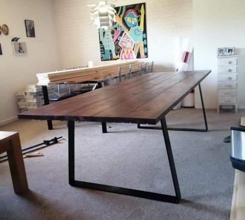 Spisebord-plankebord